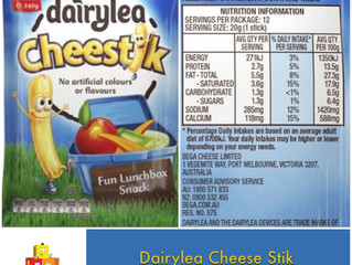 Chewsday Review- Dairylea Cheese Stik