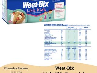 Chewsday Review- Weet-Bix Little Kids Essentials