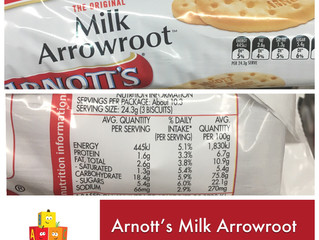 Chewsday Review- Milk Arrowroot Biscuits