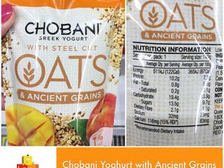 Chewsday Review- Chobani Yoghurt with Ancient Grains