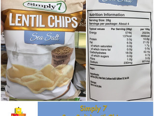 Chewsday Review- Simply 7 Lentil Chips