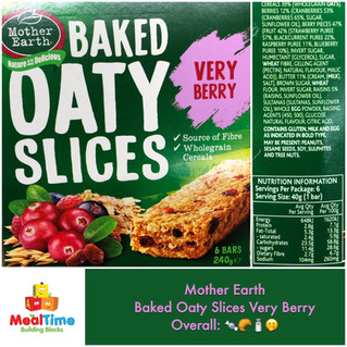 Chewsday Review- Mother Earth Oaty Slices