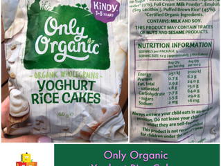 Chewsday Review- Only Organic Yoghurt Rice Cakes
