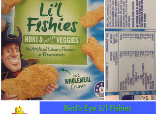 Chewsday Review- Lil Fishies (Hoki & Hidden Veggies)