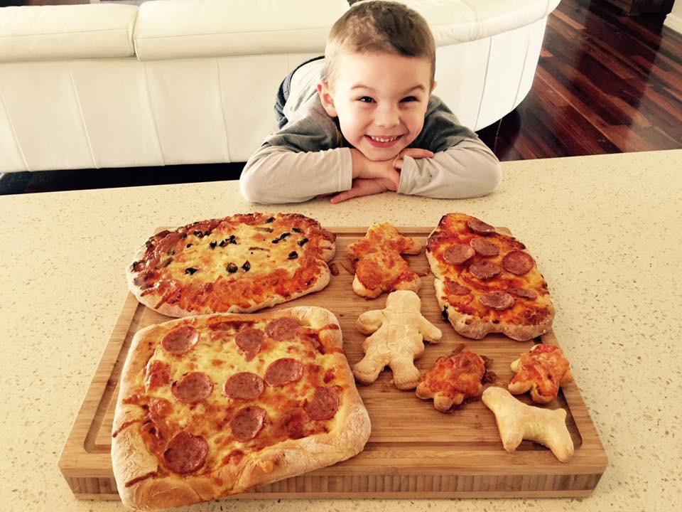 Homemade pizza king