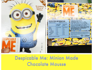 Chewsday Review- Despicable Me Choc Mousse