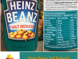 Chewsday Review- Heinz Beanz Salt Reduced