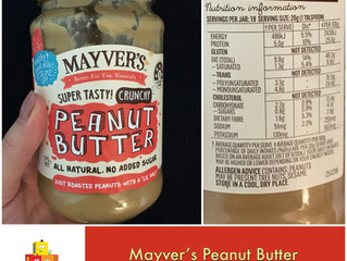Chewsday Review- Mayver's Peanut Butter