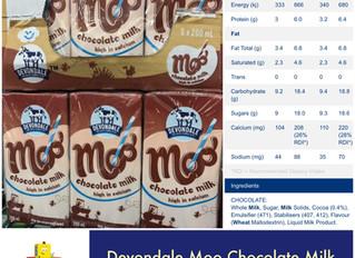 Chewsday Review- Devondale Moo Choc Milk
