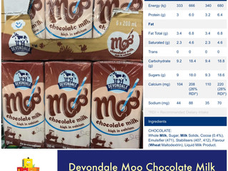 Chewsday Review- Devondale Moo Choc Milk
