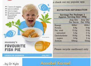 Chewsday Review- Annabel Karmel Fish Pie
