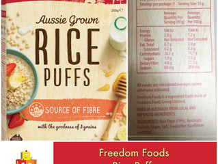 Chewsday Review- Freedom Rice Puffs