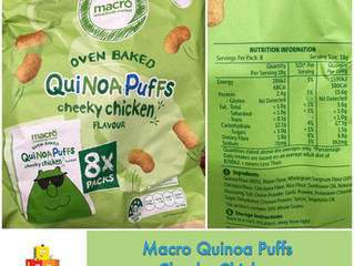 Chewsday Review- Macro Quinoa Puffs