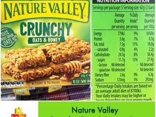 Chewsday Review- Nature Valley Crunchy Oats & Honey Bar