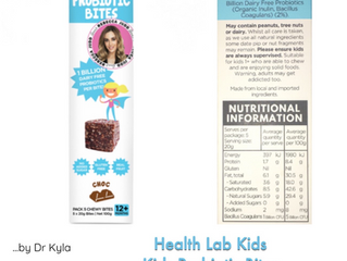 Chewsday Review- Health Lab Kids Probiotic Bites