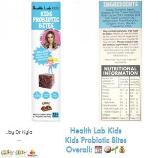 Chewsday Review- Health Lab Kids Probiotic Bites