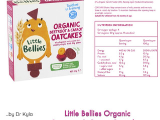 Chewsday Review- Little Bellies Organic Beetroot & Carrot Oatcakes