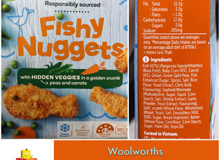 Chewsday Review- Woolworths Fishy Nuggets