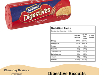 Chewsday Review- Digestive Biscuits