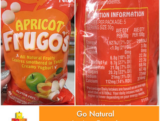 Chewsday Review- Go Natural Apricot Frugo's