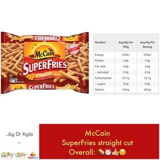 Chewsday Review- McCain Superfries Straight Cut