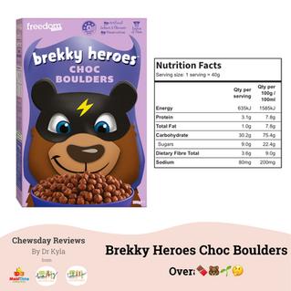 Chewsday Review- Brekky Heroes Choc Boulders
