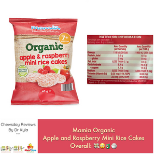 Chewsday Review- Mamia Mini Rice Cakes