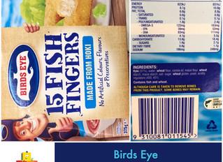 Chewsday Review- Birds Eye Fish Fingers