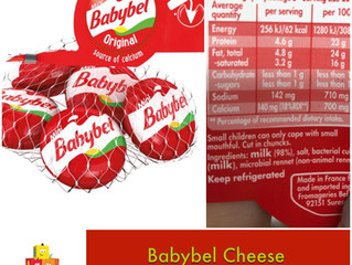 Chewsday Review- Babybel Cheese