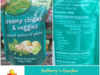Chewsday Review- Rafferty's Garden Creamy Chicken & Veggies