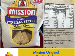 Chewsday Review- Mission Original Tortilla Strips