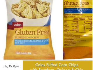 Chewsday Review- Coles Puffed Corn Chips