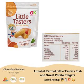 Chewsday Review- Annabel Karmel's Little Tasters
