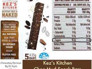 Chewsday Review- Kez's Kitchen Choc Mud Snack Bars