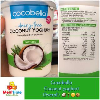 Chewsday Review- Cocobella Coconut Yoghurt