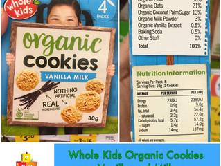 Whole Kids Organic Cookies