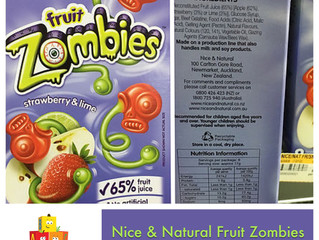 Chewsday Review- Nice & Natural Fruit Zombies