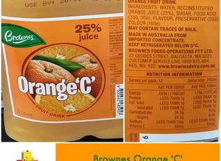 Chewsday Review- Orange 'C'