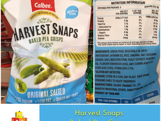 Chewsday Review- Harvest Snaps Baked Pea Crisps