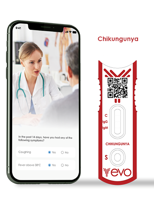 Chikungunya IgG/IgM Ab Antibody Smart Rapid Test Kit