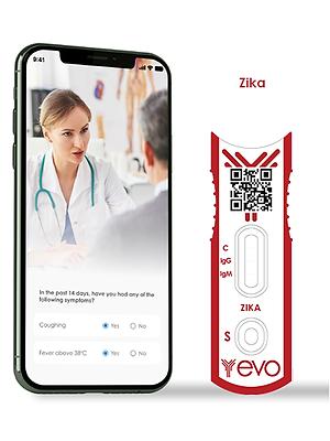 Zika Virus IgG/IgM Ab Antibody Smart Rapid Test Kit