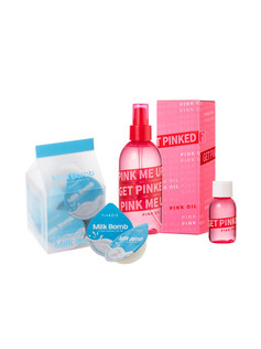MILKBOMB 滋養髮膜+粉色玫瑰髮油