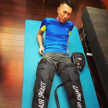 極地超級馬拉松選手-陳彥博