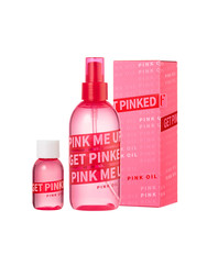 粉色玫瑰髮油200ml+小型分裝30ml