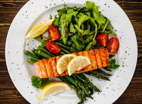 Grilled Salmon with Double A