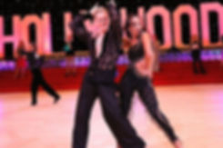 Beverly Hills Dance Studio - Oleg Astakhov during Pro/Am competition with student GiGi