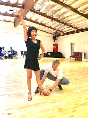 Ballroom Dancing LA - private dance lessons in Los Angeles by Oleg Astakhov.