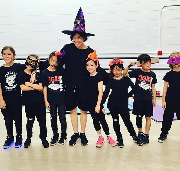 Hip Hop For Kids - Private and Group Hip Hop dance lessons for Kids in Beverly Hills by JJ Rabone.