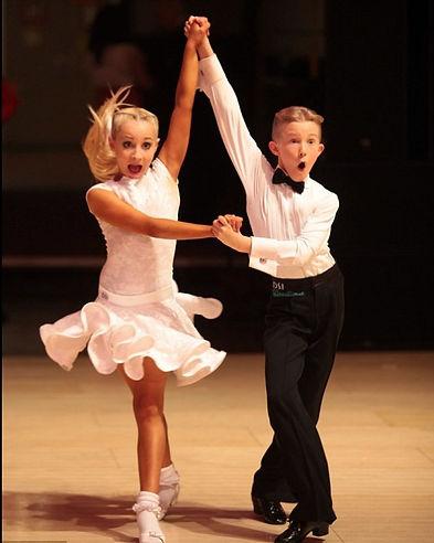 Ballroom Dance Leesons for kids in Beverly Hills by top dance teachers - Oleg Astakhov and JJ Rabone