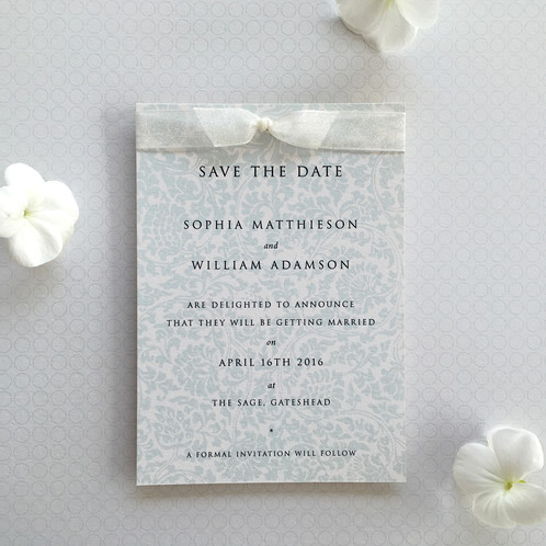 Scroll save the date as the first glimpse your guests will have of your wedding your save the date is important in setting the scene this pretty timeless design has a soft stopboris Image collections